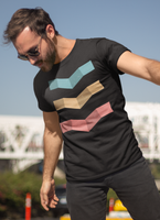 Geometric Design Triple T-shirt