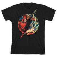 Boys Flash TShirt Superhero Clothing Youth Justice League Shirt