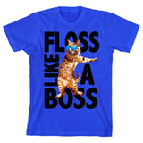 Cool Cat ?Floss Like A Boss? Youth Short-Sleeve T-Shirt