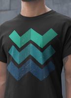 Geometric Waves T-shirt