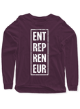 Entrepreneur Vertical Full Sleeves T-shirt.