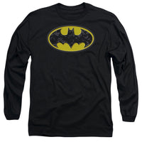 Batman - Bats In Logo Long Sleeve Adult 18/1