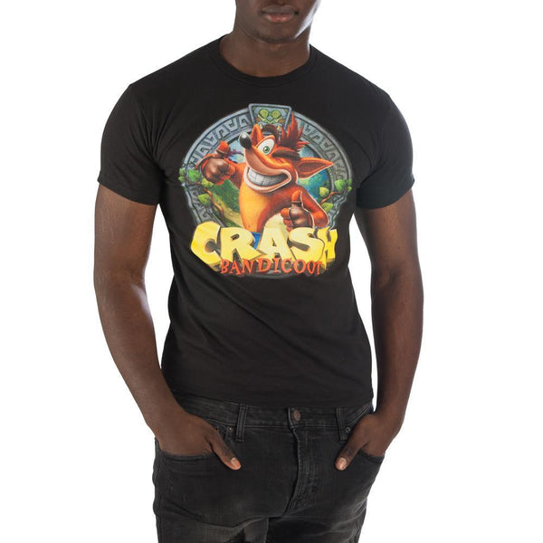 Crash Bandicoot Wink Thumbs Up Shirt For Men