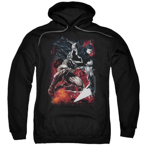 Batman - Sparks Leap Adult Pull Over Hoodie