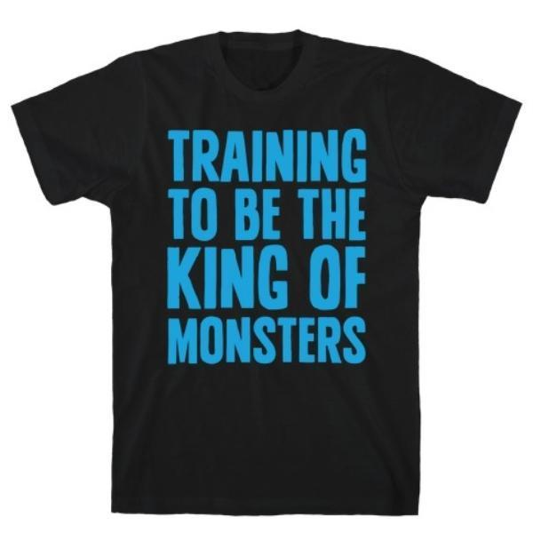 TRAINING TO BE THE KING T-SHIRT