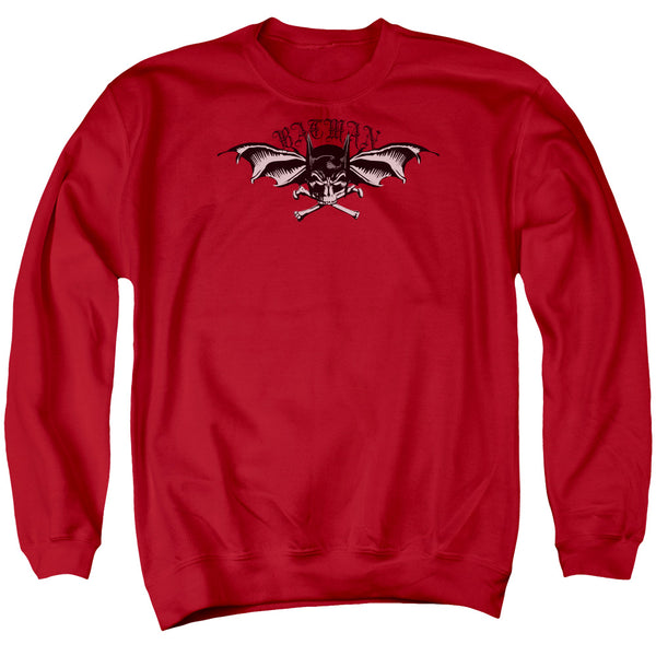 Batman - Wings Of Wrath Adult Crewneck Sweatshirt