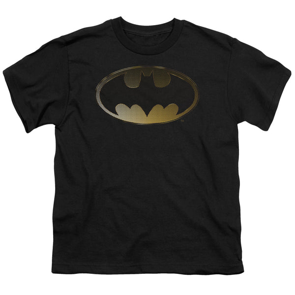 Batman - Halftone Bat Short Sleeve Youth 18/1