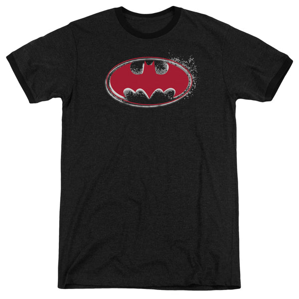 Batman - Hardcore Noir Bat Logo Adult Heather