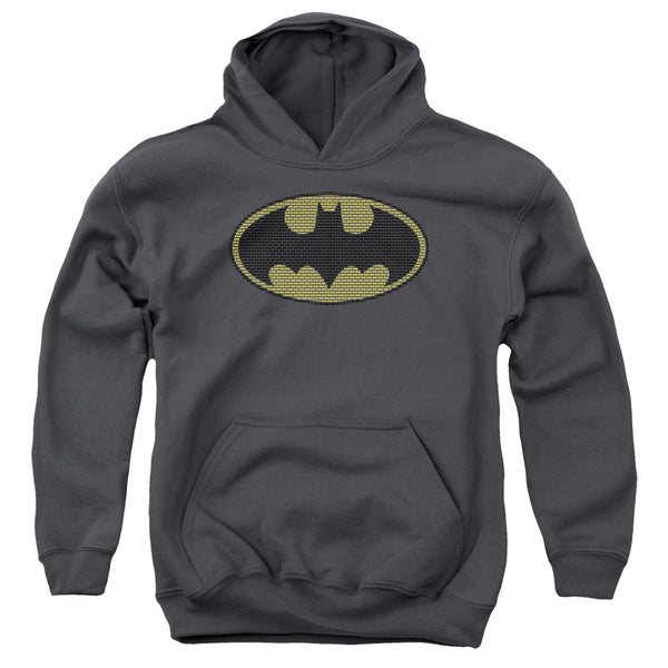 Batman - Little Logos Youth Pull Over Hoodie