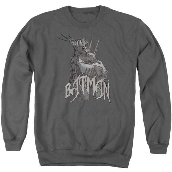 Batman - Scary Right Hand Adult Crewneck Sweatshirt