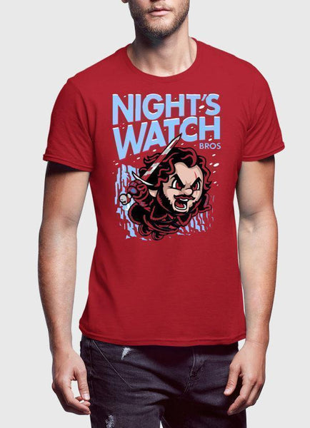 Nights Watch Red T-shirt