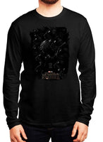 Long Live the King Black Panther Full Sleeves T-shirt