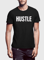 Hustle Half Sleeves T-shirt