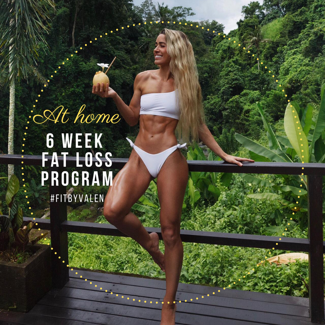 PRE SALE: 6 weeks at-home fat-loss program