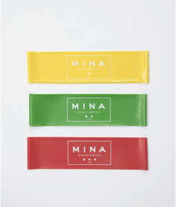 Resistance Exercise Bands by MINA Sportswear