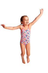 Pink Panda Toddler One-piece  | Swimwear | Little Weka