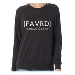 """FAVRD"" ECO Fleece Sweatshirt"