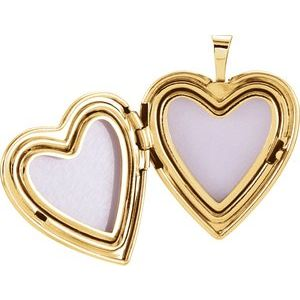 14K Yellow 20.5x19 mm Heart Cross Locket-R41631:60002:P-ST-WBC