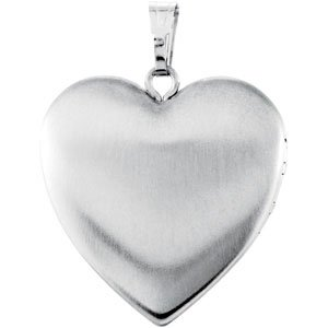 Sterling Silver 25.2x23.8 mm Mom Heart Locket with Enameled Flowers-R45241:101:P-ST-WBC