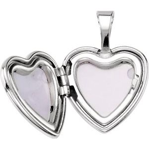 Sterling Silver Cross Heart Locket with Epoxy-190055:701:P-ST-WBC