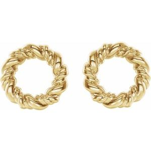 14K Yellow 9.4 mm Circle Rope Earrings-86821:601:P-ST-WBC