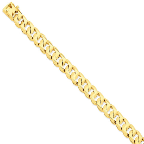 14k 11mm Hand-Polished Traditional Link Chain-WBC-LK120-24