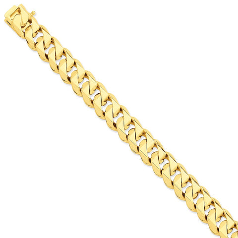 14k 14mm Hand-Polished Traditional Link Chain-WBC-LK121-24