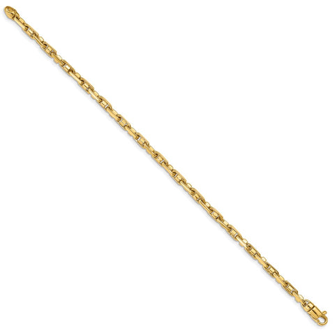 14k 3.8mm Polished Fancy Link Chain-WBC-LK736-7.25