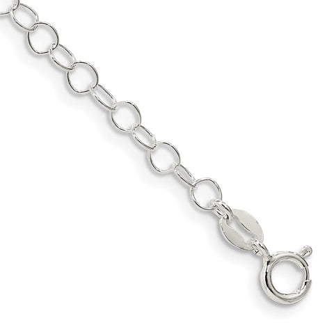 Sterling Silver 3.5mm Fancy Cable Chain-WBC-QFC82-7