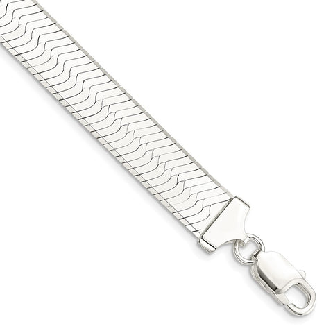 Sterling Silver 10.5mm Magic Herringbone Chain-WBC-QHB120-8