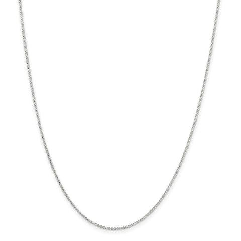 Sterling Silver 1.4mm Rolo Chain-WBC-QPE71-16
