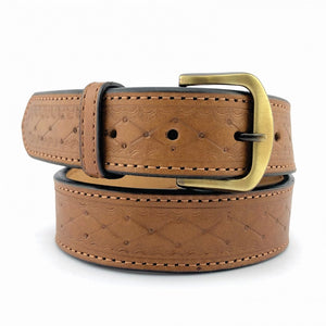Tagua Gunleather Belts - Patterned
