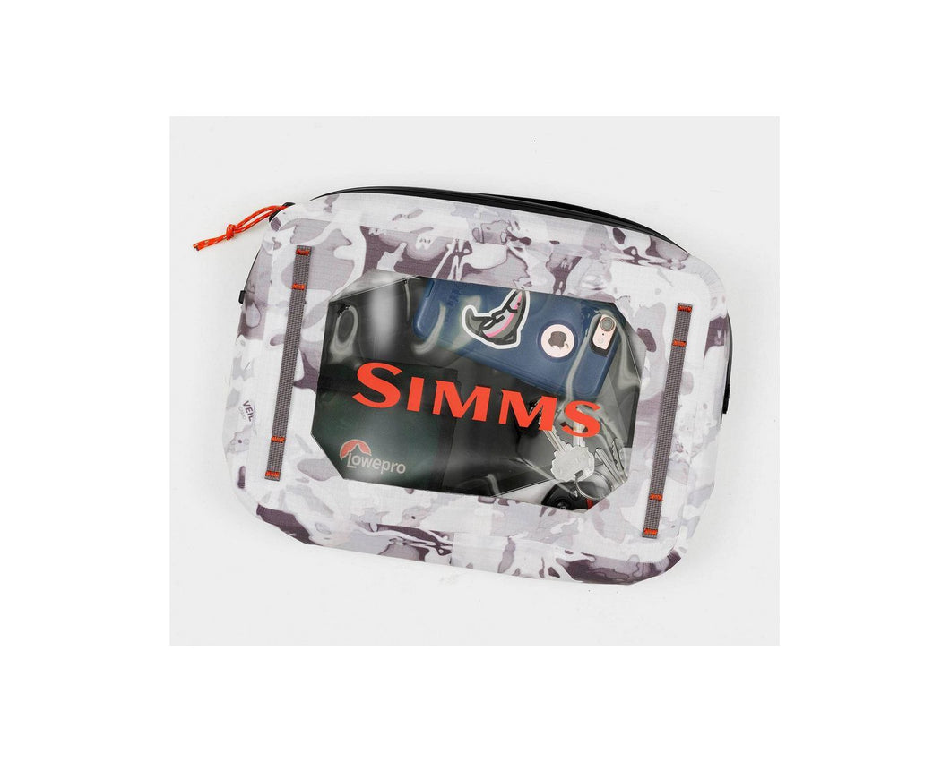 Simms - Dry Creek Gear Pouch - 4L Cloud Camo Grey