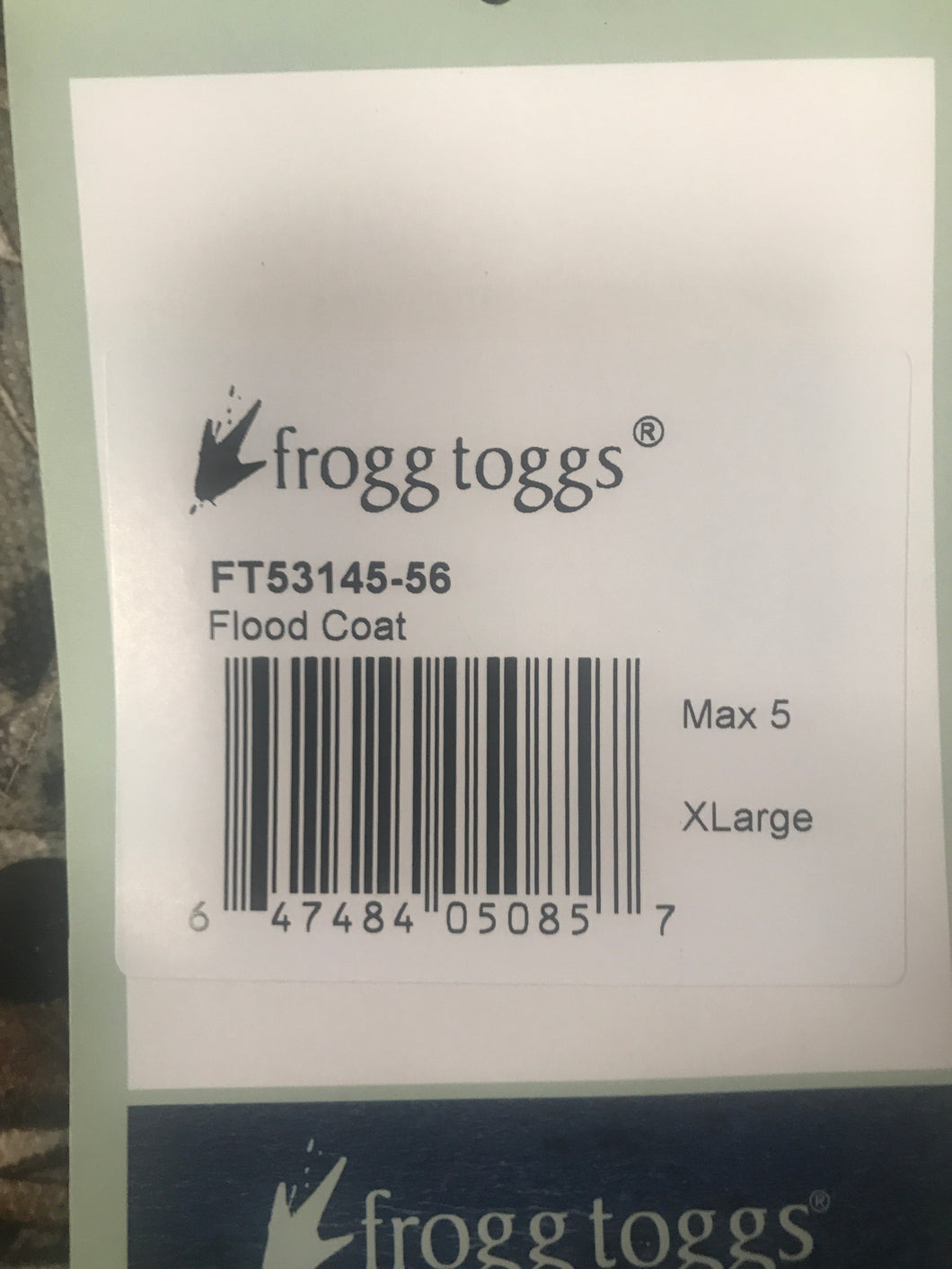 Frogg Toggs Mud Full Length Parka XL