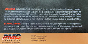 PMC Ammo - 45 Auto FMJ - 230 GR - 50 Rounds