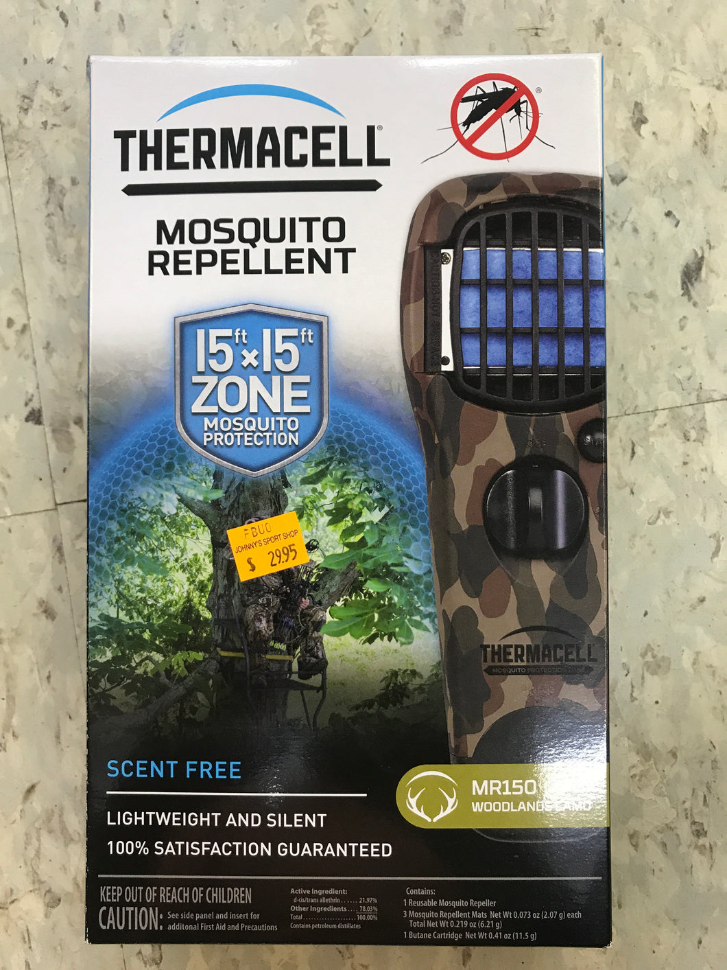 Thermacell Mosquito Repellent 15x15
