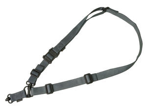 "Magpul MAG518-GRY MS4 Dual QD Sling GEN2 1.25"" wide Nylon Webbing Gray Adjustable"
