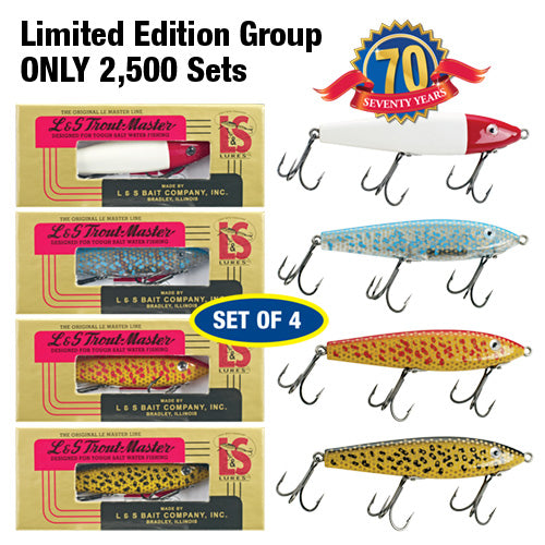 MirrOlure - Trout Master Series 55 - Collectors Edition Set