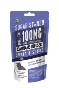 100mg Gummies - Grape