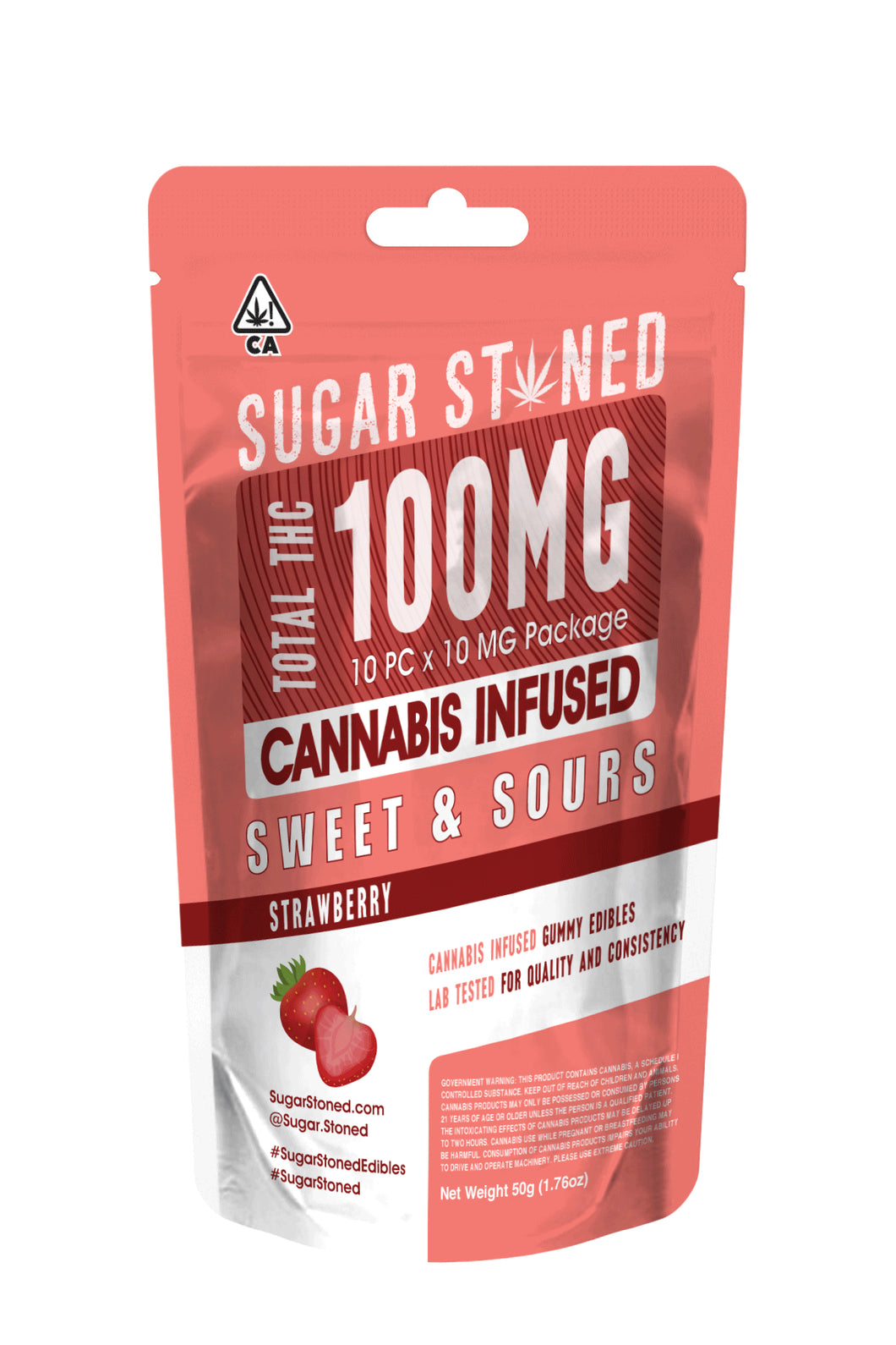 100mg Gummies - Strawberry
