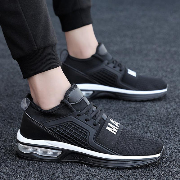 Men Shoes -  Fashion Breathable Lace Up Casual Shoes
