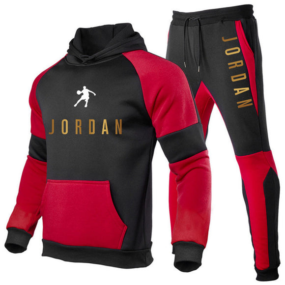 Hot Brand Men Sets 2 Piece Sportswear