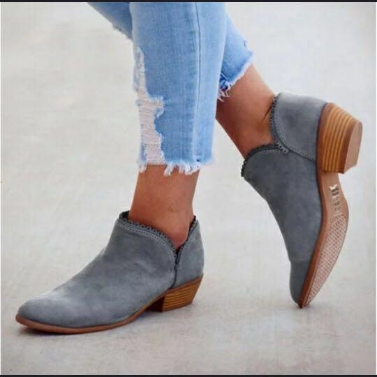 Luxury Vintage Ankle Boots