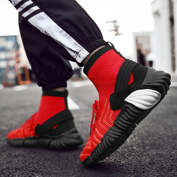 Shoes - Men More Breathable Fly Knit Winter Sneakers