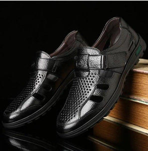 Shoes - New Arrival Men's Genuine Leather Breathable Shoes
