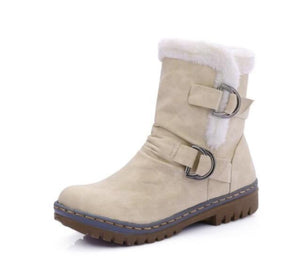 Fur Boots Waterproof Women Snow Boots