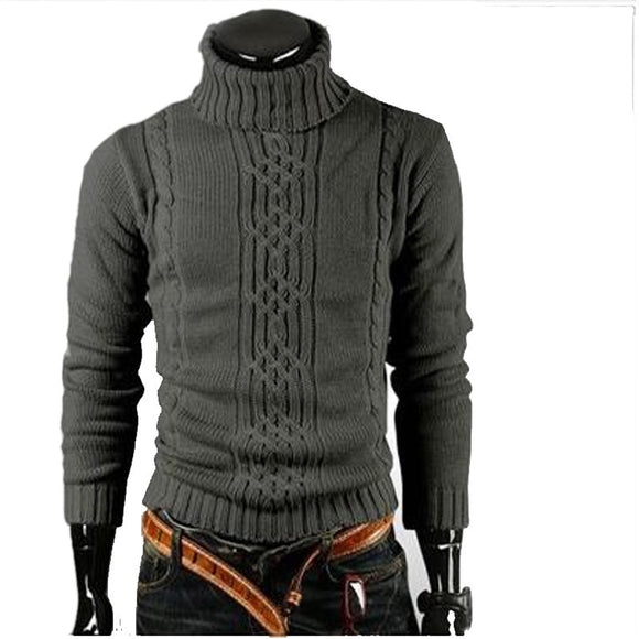 Men's Fashion Turtleneck Sweater