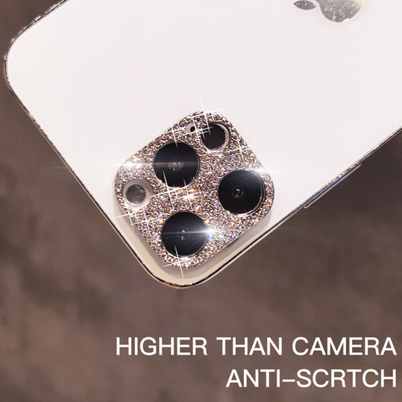 Bling Diamond Metal Camera Lens Protection For iPhone 12 Pro Max(Buy 2 Get 10% OFF, 3 Get 15% OFF, 4 Get 20% OFF)
