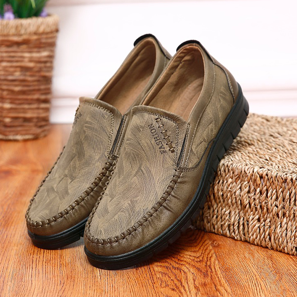 Men's Shoes - 2019 Men Fashion Slip On Casual Comfortable Shoes