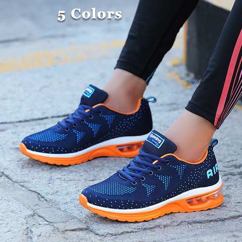 Ladies Professional Air Mesh Sport Running Shoes(Extra Discount:Buy 2 Got 5% OFF, 3 Got 10% OFF)